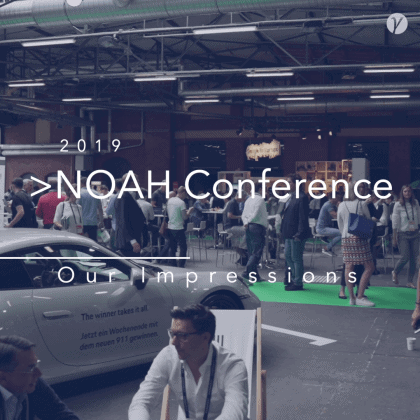 New Startup Interviews From the NOAH Conference - Teaser