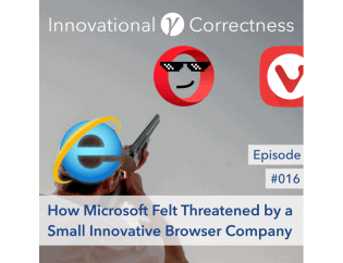#016 - How Microsoft Felt Threatened by a Small Innovative Browser Company /w Jón S. von Tetzchner
