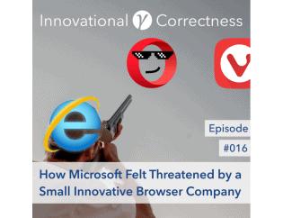 #016 - How Microsoft Felt Threatened by a Small Innovative Browser Company /w Jón S. von Tetzchner